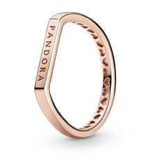Pandora Moderní bronzový prsten 189048C00 (Obvod 54 mm) stříbro 925/1000
