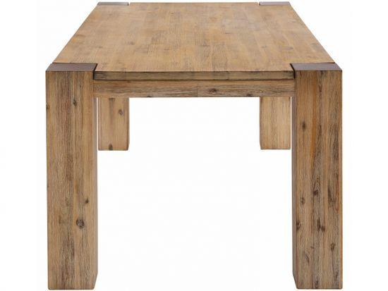 Danish Style Jedálenský stôl Asiha, 180 cm, krémová