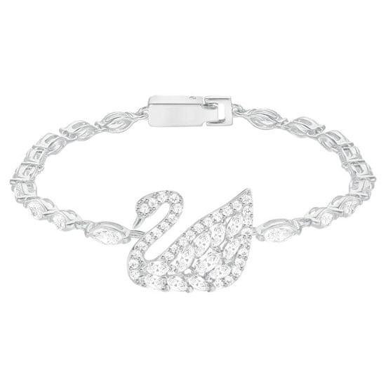 Swarovski Očarljiva zapestnica SWAN LAKE 5379947