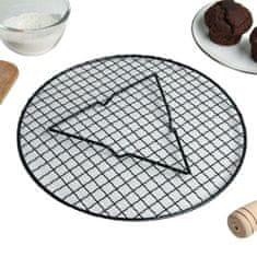 Kraftika Kulatá cukrářská mřížka na glazování a chladnutí dortů