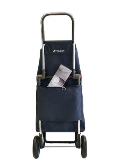 Rolser Nakupovalni voziček I-Max Star Logic RG, črno-bel