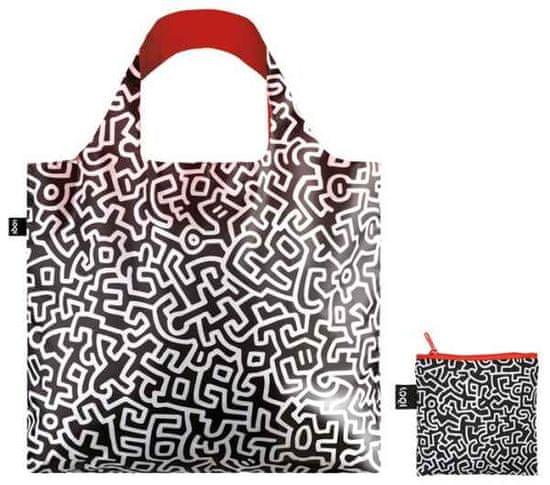 LOQI Zložljiva nakupovalna vrečka Keith Haring, Untitled