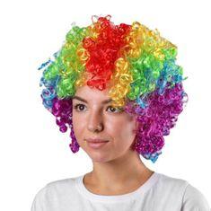 "Kraftika Karnevalová paruka ""volume"", barevné kadeře, 120 g"