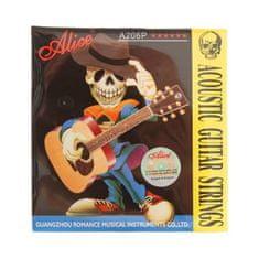 ALICE Strings pro akustickou kytaru a206p-sl super light