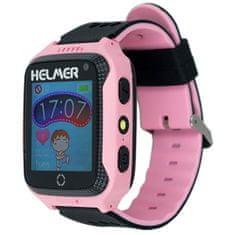 Helmer Pametna ura na dotik z GPS lokatorjem in kamero - LK 707 roza