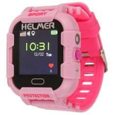 Helmer Pametna ura na dotik z GPS lokatorjem in kamero - LK 708 roza