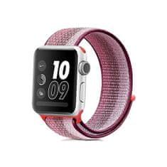 4wrist Provlékací sportovní řemínek pro Apple Watch - Berry 38/40 mm