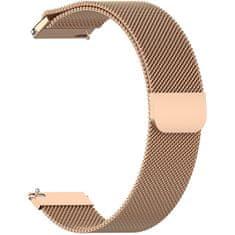 4wrist Milánský tah - Růžově zlatý (šírka 18 mm)
