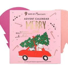 Kraftika Adventní kalendář meowy catmas 9 položek pro neuvěřitelnou