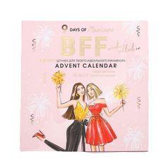 Kraftika Adventní kalendář bff 9 položek pro neuvěřitelnou manikúru