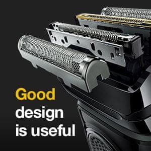 Vrtljiva glava Braun Series 9 MBS9, oblikovalska izdaja