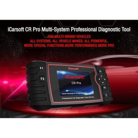 iCarsoft ICarsoft Cr Pro Multibrand Car Diagnostics Tester