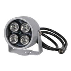 Reflektorski infrardeči osvetljevalnik za LED nadzorne kamere, 40m, 850nm
