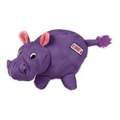 KONG Phatz Hippo igrača za pse, vijolična, M