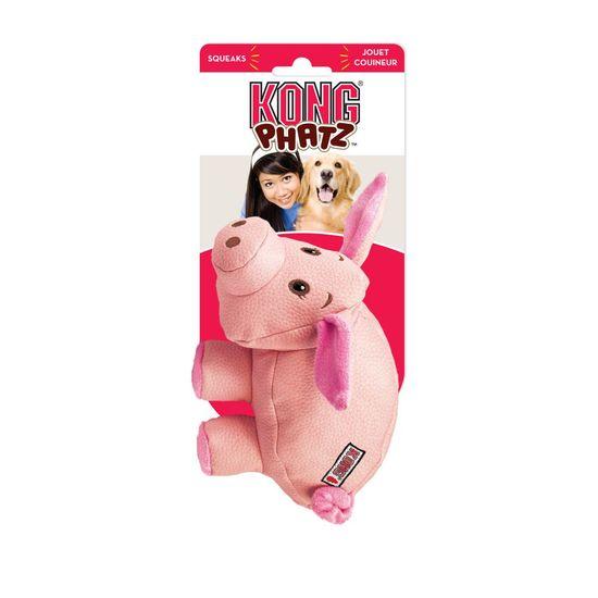 KONG Phatz Pig igrača za pse, roza, S