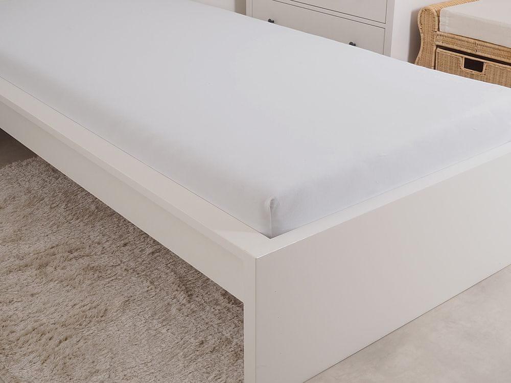 B.E.S. Petrovice Prostěradlo Jersey česaná bavlna MAKO 180x200 cm bílá