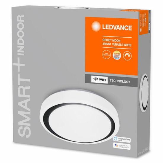 LEDVANCE Smart+ Orbis Ceiling Moon WIFI TW 380mm white/black