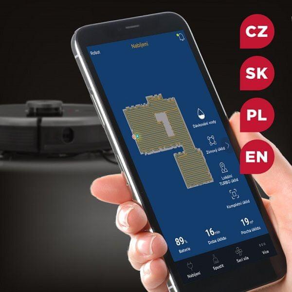 Odkurzacz automatyczny Concept VR3210 Concept Home