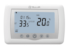Tellur Wi-Fi termostat za centralno, bel