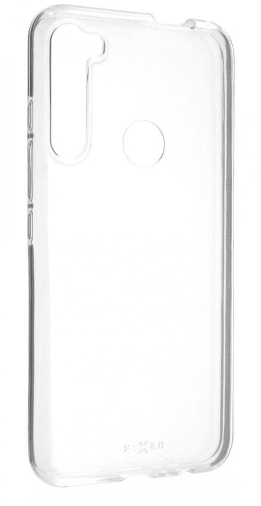 FIXED Ultratenké TPU gelové pouzdro Skin pro Motorola One Fusion+, 0,6 mm, čiré FIXTCS-577