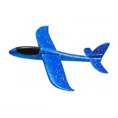 FOXGLIDER Dětské házedlo - házecí letadlo modré 48cm EPP