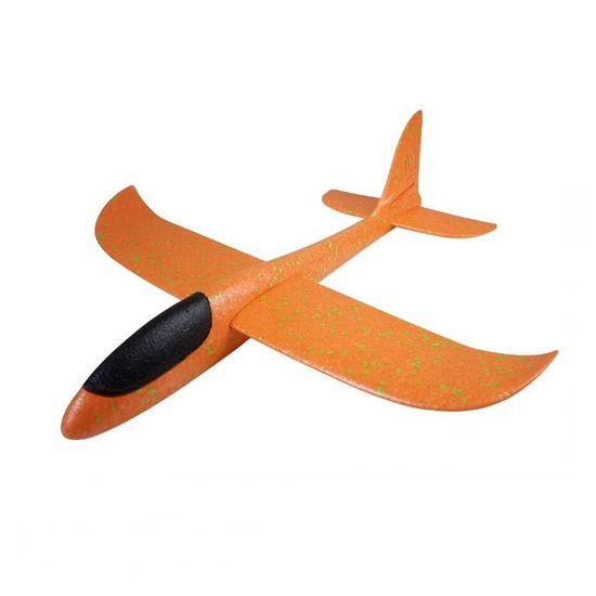 FOXGLIDER Detské hádzací lietadlo - hádzadlá oranžové 48CM EPP
