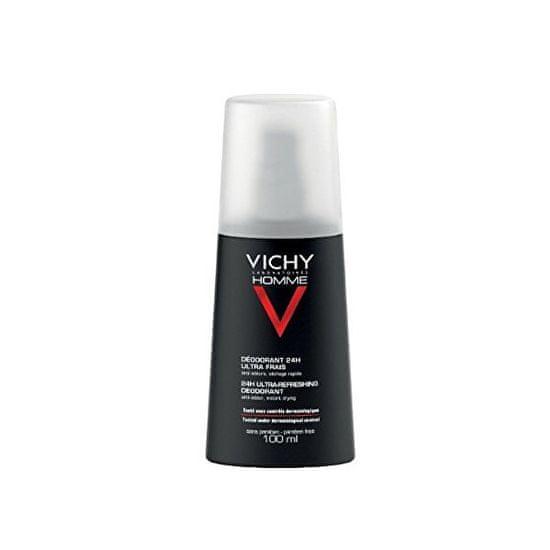 Vichy Dezodorantni sprej proti potenju 24 ur Homme ( Ultra Refreshing Deodorant) 100 ml