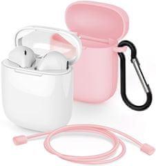 Meliconi MySound Safe Pods 5.1 brezžične slušalke, bele/roza
