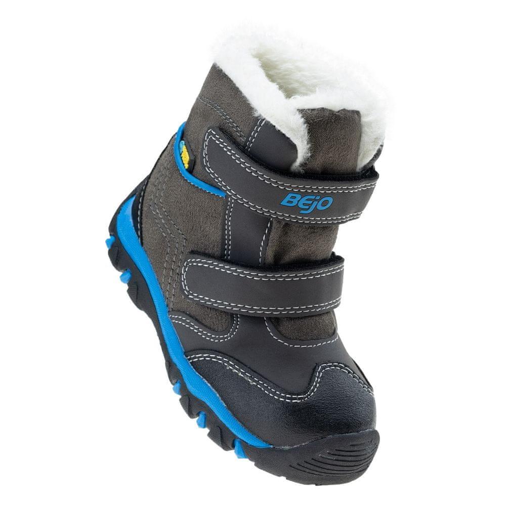 Bejo dětská zimní kotníčková obuv DAISY MID KDB 24 šedá