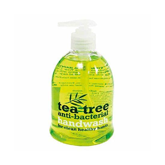 Xpel Antibakteriálne tekuté mydlo s pumpičkou Tea Tree (Liquid Soap) 500 ml