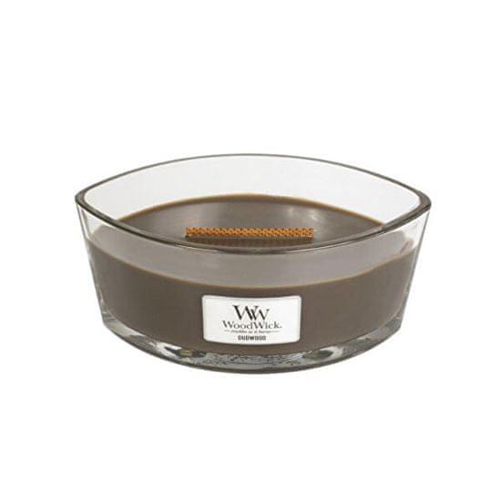Woodwick Čoln z vonjem s svečami Oudwood 453 g