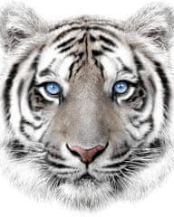 Jerry Fabrics Deka Bílý tygr