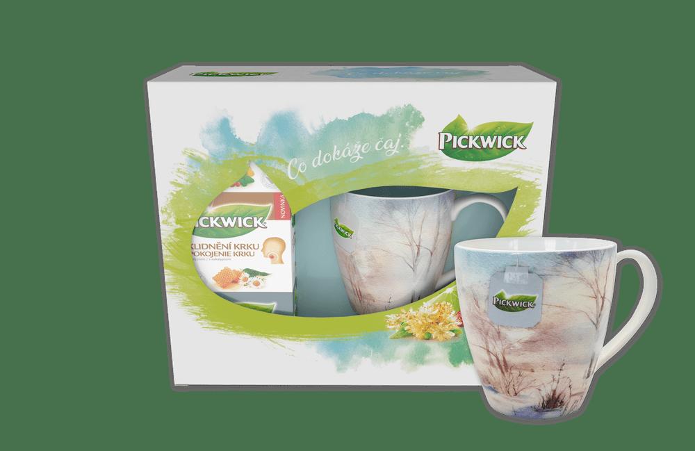 Pickwick Dárkové balení funkčních čajů s hrnečkem ZIMA