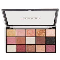 Makeup Revolution Paletka 15 očných tieňov Re-Loaded Affection Palette 16,5 g
