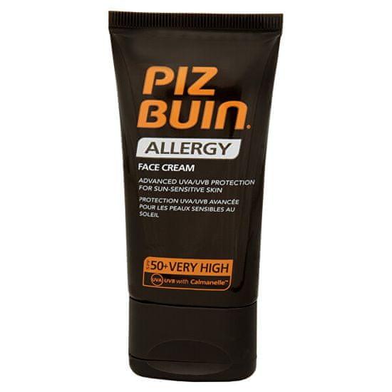 PizBuin Napvédő krém arcra SPF 50+ (Allergy Face Cream) 50 ml