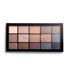 Makeup Revolution Paletka očných tieňov Re-Loaded Smoky Newtrals 16,5 g