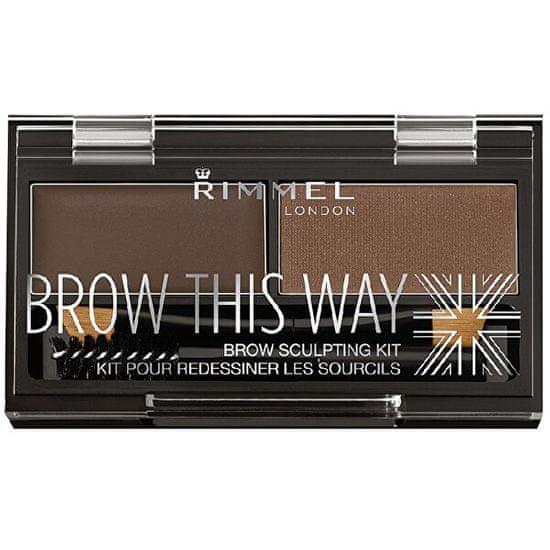 Rimmel Brow This Way (Powder Kit) 2,4 g