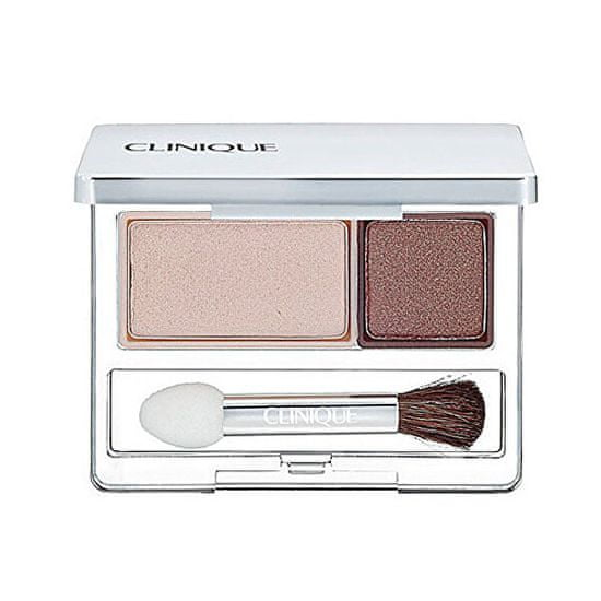 Clinique Duo očné tiene (All About Shadow Duo) 2,2 g