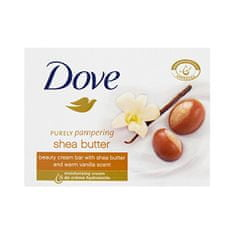 Dove Krémová tableta Purely Pampering s vůní bambuckého másla a vanilky (Beauty Cream Bar) 100 g