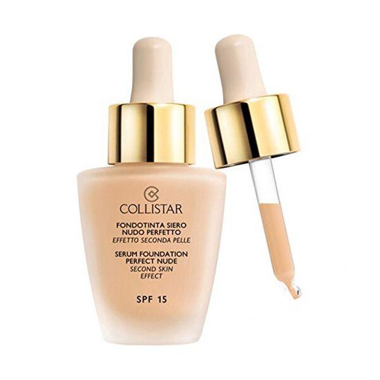 Collistar Ciecz makijażu z surowicy na wygląd gołej skóry (Idealny Nude założenia surowicy) 30 ml