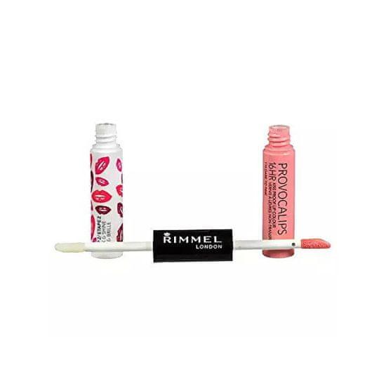 Rimmel Kolor i połysk Provocalips 16gry (kiss pomadki proof) 3 ml + 4 ml