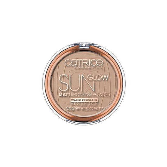 Catrice Sun Glow bronzosító púder (Matt Bronzing Powder) 9,5 g