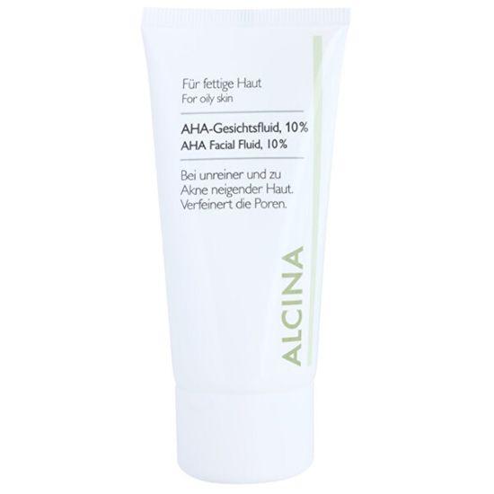 Alcina Pleťový fluid s AHA kyselinami 10% (AHA Facial Fluid, 10%) 50 ml