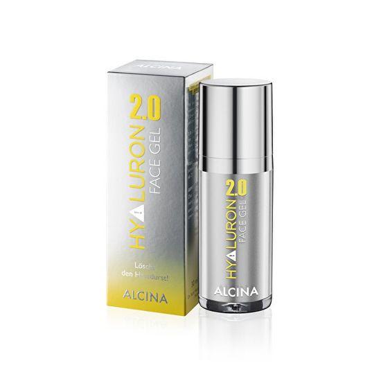 Alcina Hydratační a protivráskový pleťový gel Hyaluron 2.0 (Face Gel) 30 ml