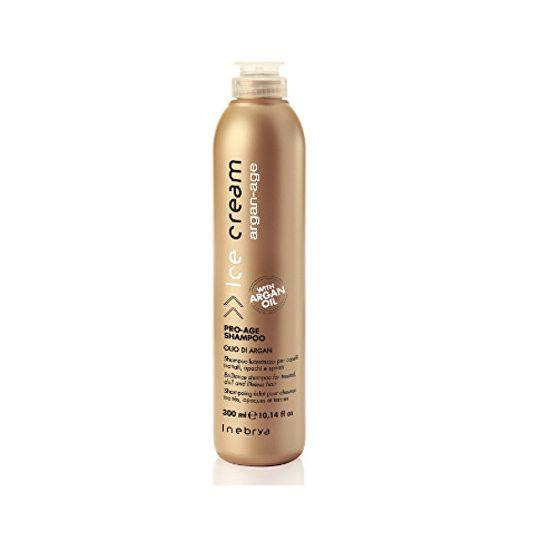 Inebrya Zaščitni antioksidantni šampon Ice Cream Argan-Age (Pro-Age Shampoo) 300 ml