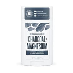 Schmidt's Izzadásgátló stift faszén + magnézium (Signature Active Charcoal + Magnesium Deo Stick) 58 ml