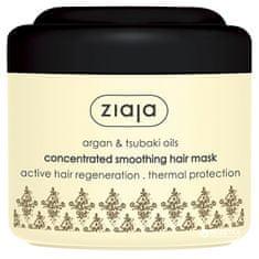 Ziaja Argan hajsimító pakolás száraz és sérült hajra (Concentrated Smoothing Hair Mask) 200 ml