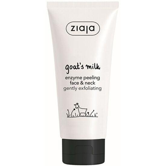 Ziaja Peeling enzymatczny do twarzy i szyiGoat`s Milk (Enzyme Peeling Face & Neck) 75 ml