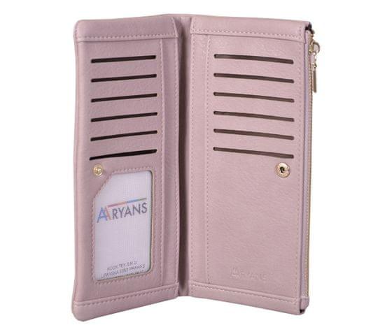 Aaryans Dámská peněženka PT19-1386 růžová
