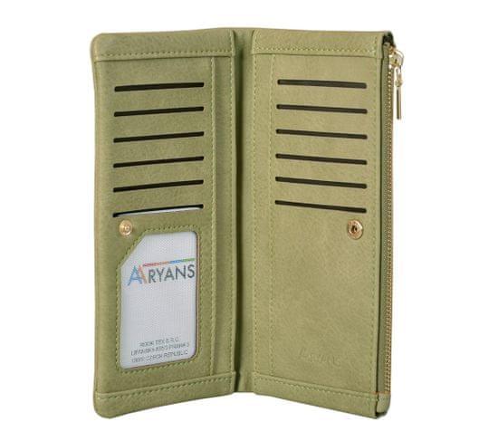 Aaryans Dámská peněženka PT19-1386 zelená